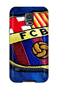 New Style Durable Barcelona Fc Back Case/cover For Galaxy S5