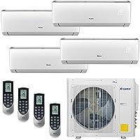 Gree LIVO MULTI30CLIV400 - 30,000 BTU Multi21+ Quad-Zone Wall Mount Mini Split Air Conditioner Heat Pump 208-230V (9-9-9-9)