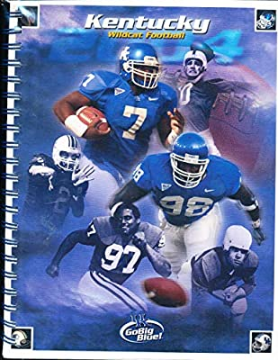 2004 University of Kentucky Football Media Guide bx111