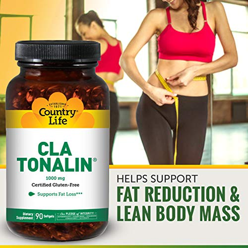 Country Life - CLA Tonalin, Supports Fat Loss - 90 Softgels by Country Life (Image #3)