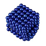 Magnetic Decompression Toy Balls, Kobwa Small Balls for Children Party Games (216 Pack&5mm)