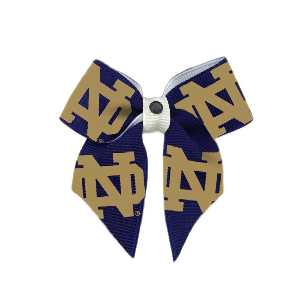 Notre Dame Dog Hair Bow by Game Day Dogs