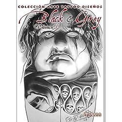 Black & Grey Volume 1: Tattoo Design Collection