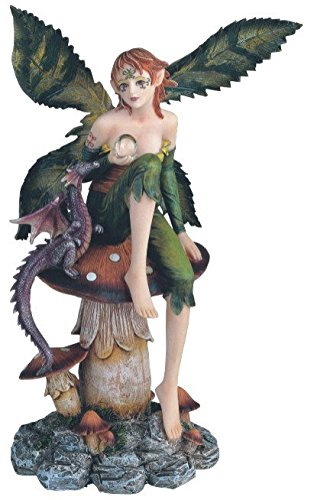 Fairy Collection Pixie with Fantasy Decoration dragon collectible figurines