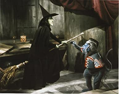 Wicked Witch Of The West Flying On Her Broom Wicked Witch Of The We...