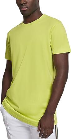 e16993117d0e29 Urban Classics Herren T-Shirt Shaped Long Tee  Amazon.de  Bekleidung