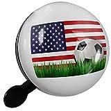 Small Bike Bell Soccer Team Flag USA - NEONBLOND