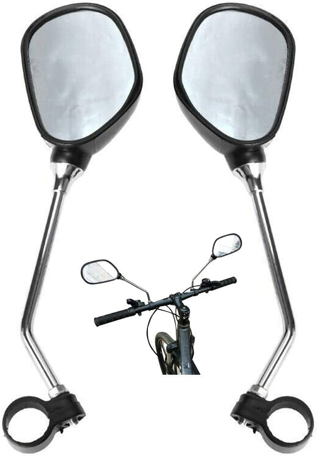 MTB Cycling Bike Bicycle Flexible Safe Rear Rearview Mirror Safe T6L4