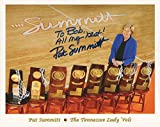 Autographed Pat Summitt Picture - 8x10 COLOR +COA BASKETBALL TO BOB - Autographed College Photos