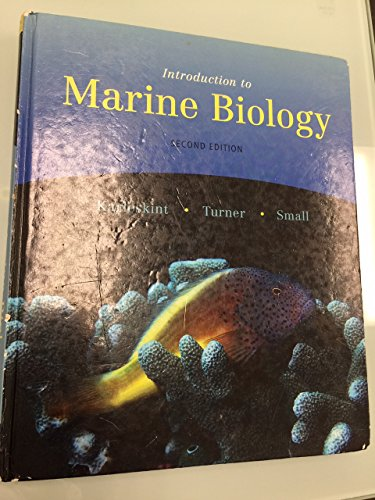 Introduction to Marine Biology 2nd edition Karleskint