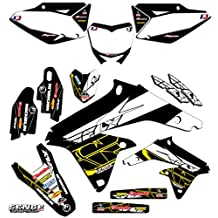 Senge Graphics 1993-1995 Suzuki RM 125/250, Fly Black Graphics Kit