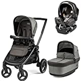 Peg Perego Team Stroller With Primo Viaggio Nido Car Seat - Atmosphere