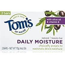 Natural Beauty Bar Soap by Tom's of Maine - 2 bars, Daily Moisture