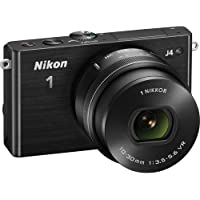 Nikon 1 J4 Digital Camera with 1 NIKKOR 10-30mm f/3.5-5.6 PD Zoom Lens (Black) International Version (No warranty)