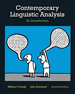 amazon com study guide for contemporary linguistic analysis an rh amazon com Careers in Linguistics Linguistic Theory