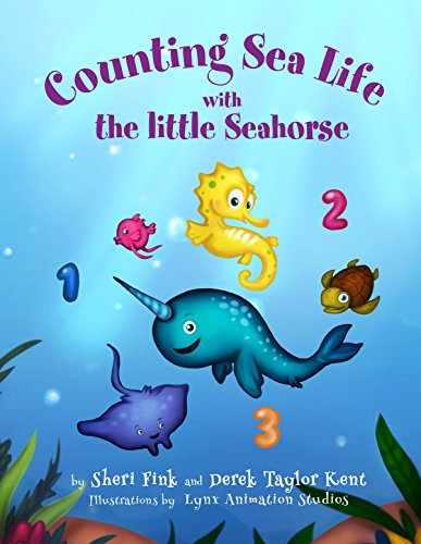 Counting Sea Life with the Little Seahorse