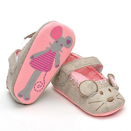 Bañador de zapatos, diseño de gato, color rosa, talla 6-12 Meses gris