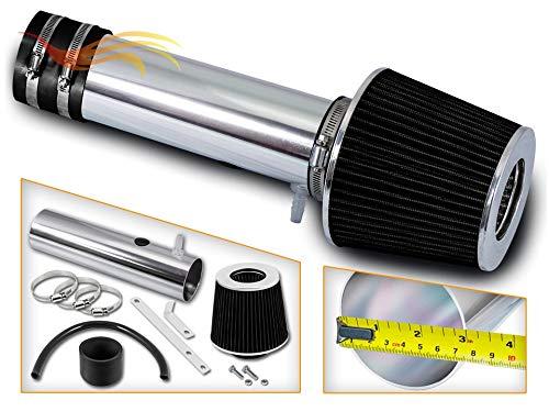 RSG Racing Short Ram Air Intake Kit BLACK Compatible For 04-06 Acura MDX / 05-06 Honda Odyssey / 06-08 Honda Pilot V6 3.5L ONLY