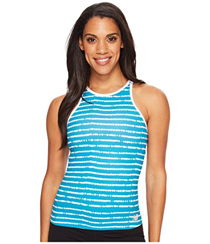 New Balance Women's Richmond Tank Top, Deep Ozone Blue, Medium