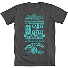 GEEK TEEZ Doctor Who Time Youth Boys' T-Shirt