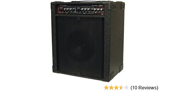 Amazon.com: Pyramid GA610 Guitar Amplifier (600-Watt Dual Channel): Car Electronics