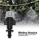 HEEPDD 50pcs/Set Misting Nozzles Plastic