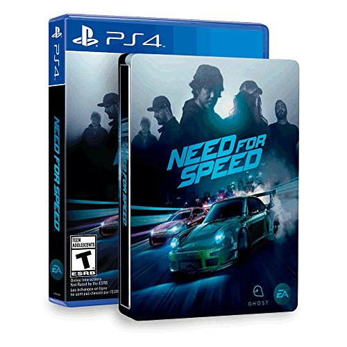 need for speed steelbook amazon exclusive playstation 4. Black Bedroom Furniture Sets. Home Design Ideas