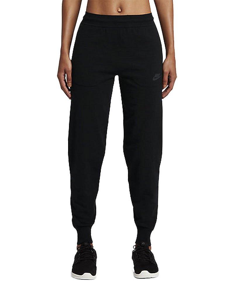 NikeスポーツウェアTechニットレディースパンツ Medium ブラック B01NBVMCSX