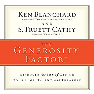 The Generosity Factor Audiobook