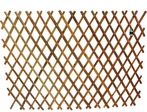 Master Garden Products Bamboo Flex Fence, 48 by - Lattice Panels Wood