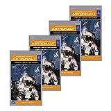Astronaut Ice Cream Cookies and Cream Sandwich Freeze Dried Food 4 Packs
