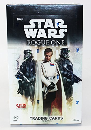 Hobby Trading Card (2016 Topps Star Wars Rogue One Series 1 Hobby Box - 24 packs of 8 cards)