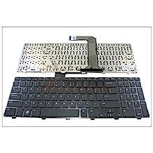 Genuine New US Laptop keyboard for Dell Inspiron 15R N5110 M5110 N 5110 Black with frame | DP/N: 4DFCJ 04DFCJ NSK-DY0SW 01 9Z.N5YSW.001 MP-10K73US-442 90.4IE07.C01