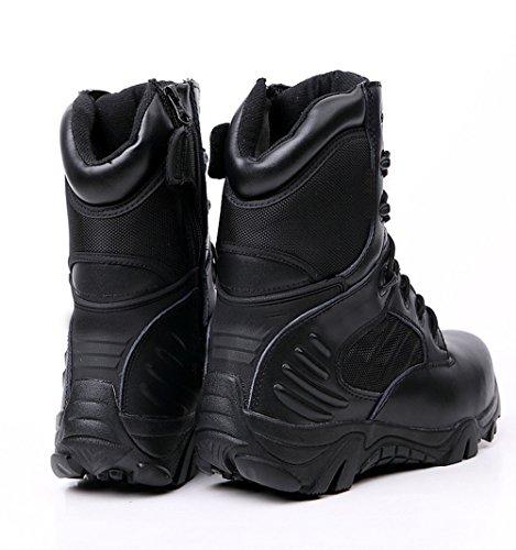 CHT Primavera Al Aire Libre Y Zapatos De Senderismo Del Otoño Y Del Invierno De Los Hombres Del Desierto Botas De Tamaño Negro Marrón Opcional Black