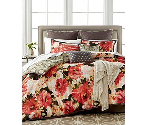 Kelly Ripa   Angelica Multi Color Floral 10P Queen Comforter Set