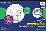 Art1st Sketch Pad, 18''X12'', White, 50 Sheets