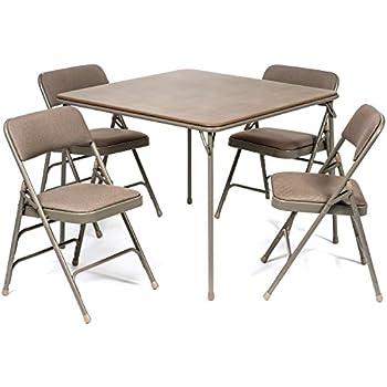 Favorite Amazon.com: 5pc. XL Series Folding Card Table and Triple Braced  CK92