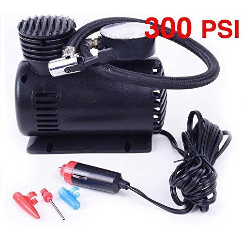 YOUNGFLY C 300 PSI 12V Car Auto Portable Pump Tire Inflator Mini Air Compressor W/Gauge