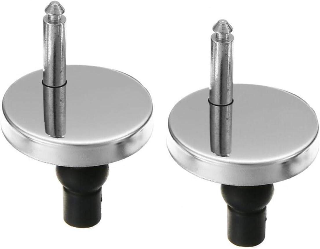 2 Piezas De Top Fix Wc Caja Tornillo Acoplamientos R/ápidos Bisagra Reparaci/ón Herramientas De Salida