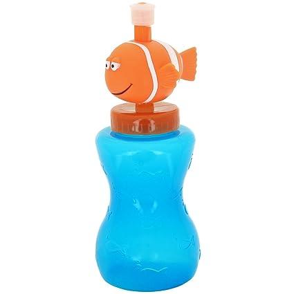 Promobo – Cantimplora infantil 300 ml Design Ludique peces tapón dosificador hermético