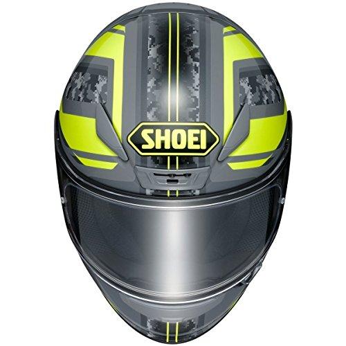 Lightest Full Face Helmet - Shoei R120PAMTR 3 3 SNL unisex-adult full-face-helmet-style RF-1200 Parameter Tc-3 Helmet (Black/Yellow, Medium), 1 Pack