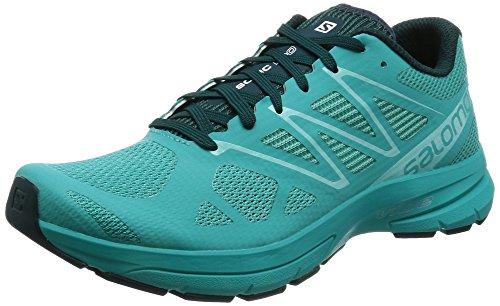 Salomon Sonic Pro 2 W, Zapatillas de Trail Running para Mujer Varios colores (Ceramic/Deep Teal/Aruba Blue)