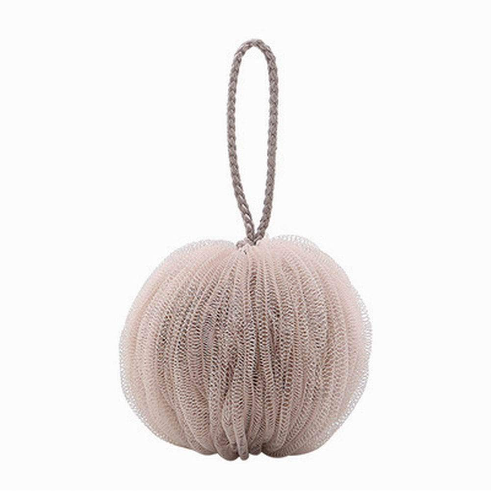 housesweet 1Pcs Bath Shower Sponge Mesh Brush Shower Ball Body Exfoliate Pouf Soft Bath Puff