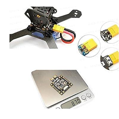 Makerfire FCHUB-6S w/ Current Sensor PDB Power Distribution Board BEC 5V/1.5A 10V/1.5A Current Sensor 184A for FPV Racing Drone Quadcopter Martian QAV X 250 210 220 180 150: GToys: Toys & Games