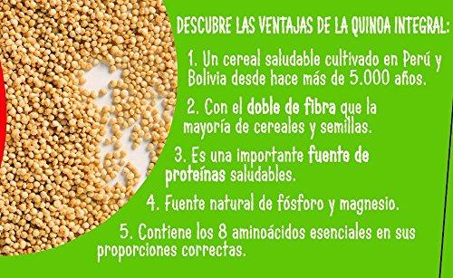 Brillante Vasito Quinoa Integral - Paquete de 2 x 125 gr - Total: 250 gr: Amazon.es: Amazon Pantry