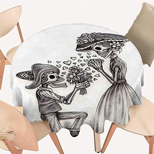 Dragonhome Modern Table Circle Cloth The Dead Mariage