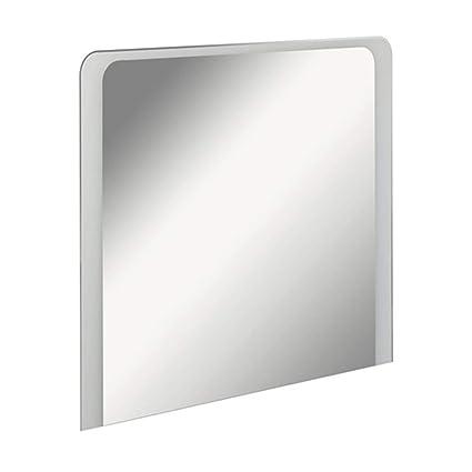 Specchio 100 X 80.Fackelmann Specchio Da Bagno Con Illuminazione Indiretta A
