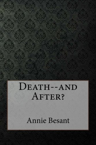 Death--and After? pdf