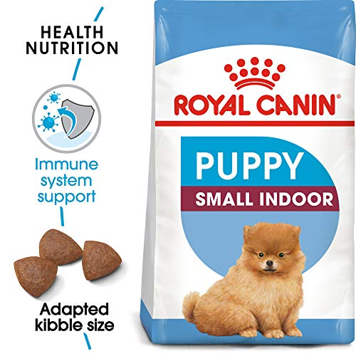 Royal Canin Size Health Nutrition Small Indoor Puppy Dry Dog Food, 2.5-Pound