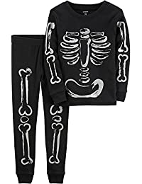 Baby Boys Skeleton Halloween PJs